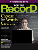 Efficiency Experts - For The Record Magazine